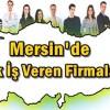 Mersin'de Ek İş İlanları