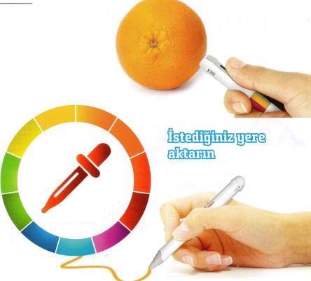 renkleri kopyalayan kalem