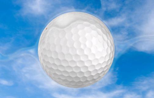 Golf Topunun Yüzeyi