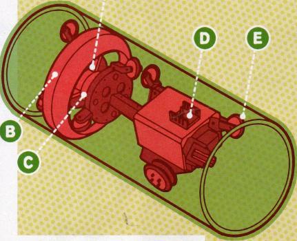 Sızıntı arayan boru robotu
