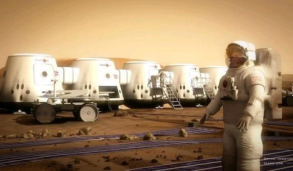 mars'a tek yonlu yolculuk
