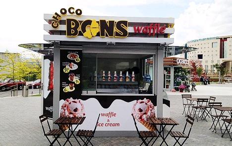 Choco Bons Waffle