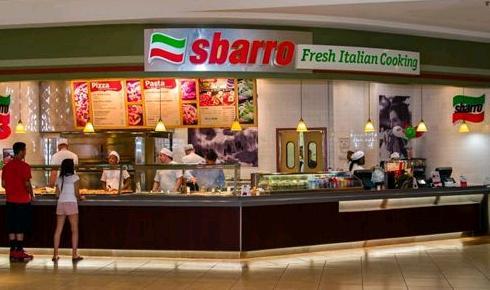 Sbarro restoranı