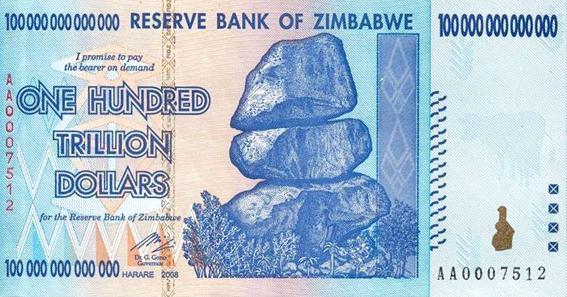 Zimbabwe parası