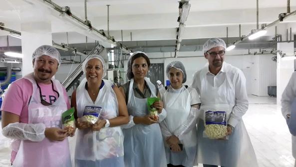 Reis Gıda sarımsak fabrikası