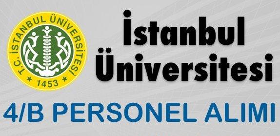 istanbul_universitesi_sozlesmeli_personel_alimi