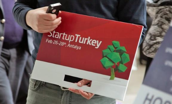 8'inci Startup Turkey organizasyonu