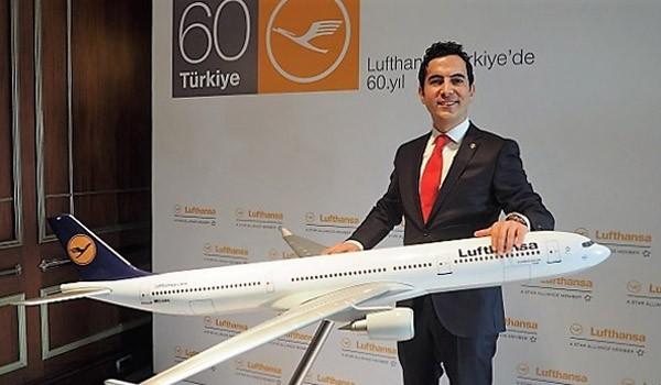 Lufthansa Turkiye kemal gecer