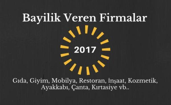 bayilik-veren-firmalar-2017